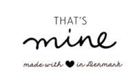 Thats Mine Rabatkode