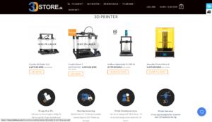 3Dstore Oplysninger