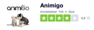 Trustpilot anmeldelser af AnimiGo.dk