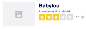 Trustpilot anmeldelser af Babylou.dk