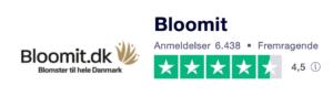 Trustpilot anmeldelser af Blossom.dk