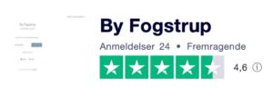 Trustpilot anmeldelser af ByFogstrup.dk