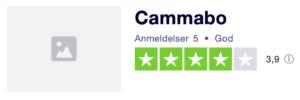 Trustpilot anmeldelser af Cammabo.dk