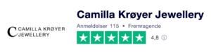 Trustpilot anmeldelser af camillakroeyer.dk