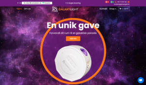 Galaxylight Oplysninger
