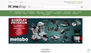 HomeShop Oplysninger