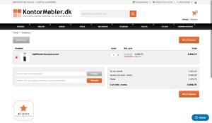 Sådan bruger du din KontorMøbler.dk rabatkode
