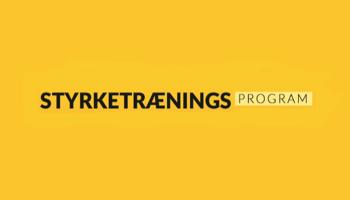 Styrketræningsprogram Rabatkode