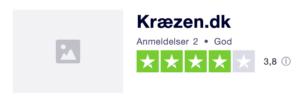 Trustpilot anmeldelser af KraeZen.dk