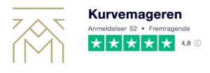 Trustpilot anmeldelser af Kurvemageren.dk