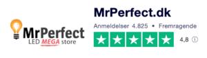 Trustpilot anmeldelser af MrPerfect.dk