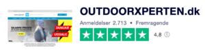 Trustpilot anmeldelser af OutdoorXperten.dk